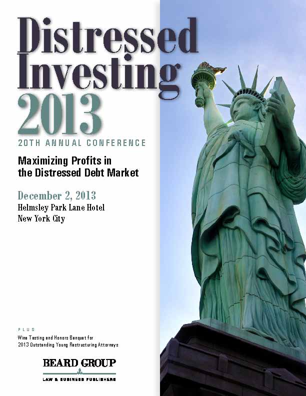 Distressed Investing 2013